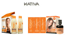 Kativa Keratina & Argan Oil Lisciatura Brasiliano + Pack Inserisci Trattamento
