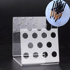 Syringe Acrylic Organizer Holder Case Frame Dental Transparent Resin Composite