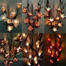 Wooden Art Deco Style Floor/Standard Lamps