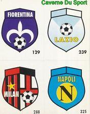 081 AC.MILAN FIORENTINA LAZIO NAPOLI ITALIA CARD CARTA CALCIO QUIZ VALLARDI 1991