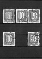 DDR Briefmarken  - Satz - Dienstmarken 1956  - Gestempelt
