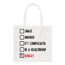 Single Married Hungry Small Tote Bag - Funny Joke Shopper Shoulder