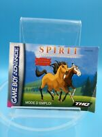 jeu video notice BE nintendo gameboy advance FRA spirit etalon des plaines