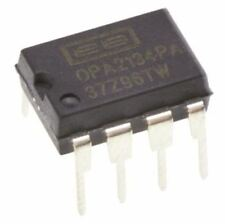 Texas Instruments OPA2134PA 2-Channel Audio Amplifier 8MHz, 8-Pin PDIP