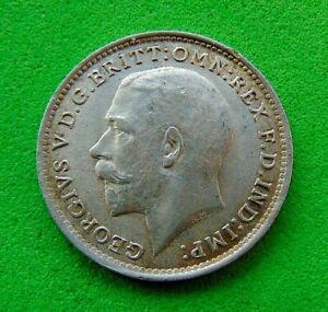 A  CHOICE  B.UNC  WW1  *1915*  SILVER  THREEPENCE  3d ...LUCIDO_8  COINS