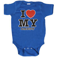 I Love My Daddy Bodysuit