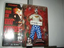 """House of a 1000 Corpses Captain Spaulding 7"""" Figure ExclusiveMOC 2002 NECAScarce"""