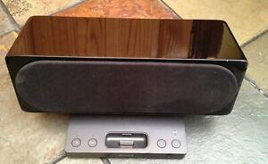 Sony SRS-GU10iP speaker system for ipod/iphone - Black