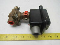 Pall Pallmatic Solid State Drain Valve 5-175 PSIG 120V Coil