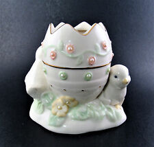 Lenox Porcelain Petals And Pearls Chick Bud Vase Easter (35)
