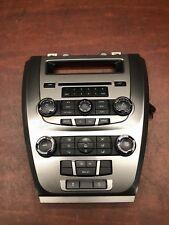 2010 Ford Fusion Hybrid Dash Radio CD Player Climate Control Panel OEM