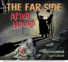 Far Side After Hours 2021 Calendar, Paperback by Larson, Gary, Like New Used,...