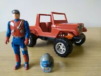 Vintage Gator Dusty Hayes Kenner rare 1985 jeep