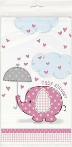Little Peanut Theme Baby Shower Tablecloth; Choice of Pink or Blue Gender Reveal