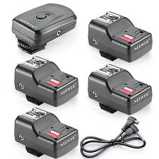 Neewer Wireless FM Flash Speedlite Trigger Set ( 1 Transmitter & 4 Receivers)
