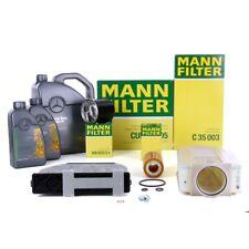 MANN Inspektionskit + 7 L ORIGINAL Mercedes 5W30 Motoröl W204 W212 X204 CDI