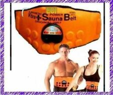 Sauna Magnetic Vibrate Massager Fat Burner Slim Waist Belly Weight Loss Belt Kit
