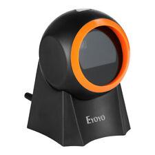 Eyoyo Hands Free 1d 2d Qr Desktop Barcode Scanner Screen Reader Fits Pos System