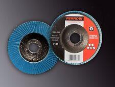Disco de láminas de pulir  P120 115x22-T27 (Pack de 10 unades)