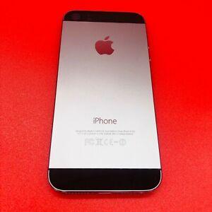 ORIGINAL Replacement Metal Mid Frame Back Housing Battery Door BLACK iPhone 5S A