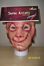 ADULT SERIAL KILLER 29 CREEPY SCARY CRAZY INSANE LATEX FACE MASK COSTUME TB25529