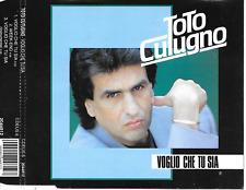 TOTO CUTUGNO - Voglio che tu sia CD SINGLE 3TR Italian Pop 1991 (EMI) Holland