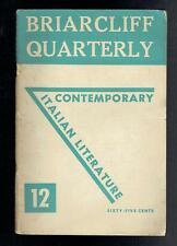 Briarcliff Quarterly Vol III No 12 January 1947 Good