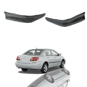For 2005 2008 Toyota Corolla S Style Rear Bumper Sport Splitter Lips Spoiler Kit