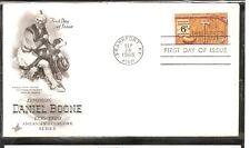 US SC # 1357 Daniel Boone FDC. Artcraft Cachet