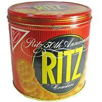 Vintage Ritz 1984 50th Anniversary Tin