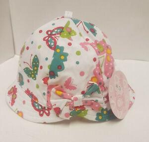 'Girls Summer Hat' Butterflies (Ex Display)