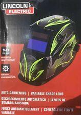 Lincoln Electric Auto Darkening Welding Helmet Galaxsis Pattern Ar 9 13 Adf