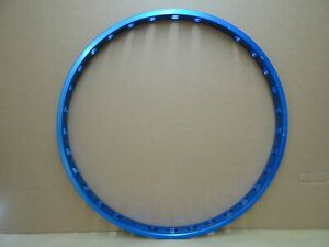 "Wide 26"" Blue Alloy Mtb Rim 559 x 31m 32 Hole Mtb Xc Am Light!"