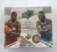 2004-05 Upper Deck SPx Basketball NBA Factory Sealed Hobby Box