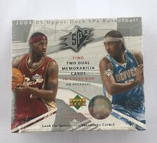 2004-05 Upper Deck SPx Basketball NBA Factory Sealed Hobby Box