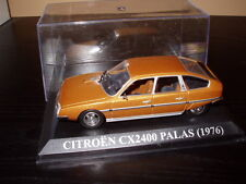 Voiture 1/43 IXO Altaya Espagne : CITROËN CX 2400 Pallas 1976 brun