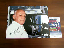 BRUCE MCCANDLESS NASA ASTRONAUT SIGNED AUTO L/E COLOR 8 X 10 PHOTO JSA AUTHENTIC