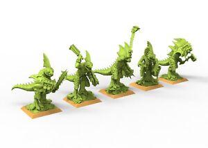 Makan skink lizardmen 9th age AOS, Warhammer battle, king of war