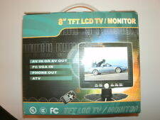"8"" TFT LCD Monitor In Car 12v Operation"