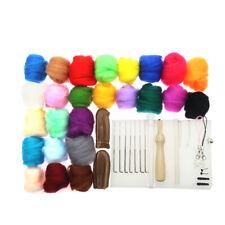 Needle Felting Starter Kit Wool Felt Needles Tools for Handmade Crafts