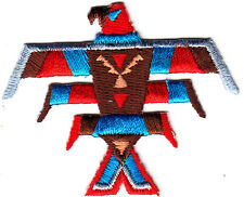 THUNDERBIRD, SOUTHWEST-WESTERN-NATIVE AMERICAN- Iron On  Embroidered  Patch