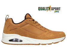 Skechers Uno Stacre Ocra Giallone Scarpe Uomo Sportive Sneakers 52468 WSK 2020