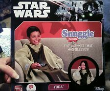 Star Wars Snuggie For Kids -Yoda *** NEW