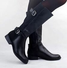 Zip Knee High Boots Medium (B, M) Casual Shoes for Women