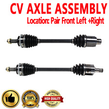 PAIR FRONT LEFT & RIGHT CV DRIVE AXLE SHAFT ASSEMBLY For HONDA PILOT 2003 2004
