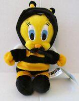 Warner Bros Studio Store 1999 TWEETY BUMBLE BEE Enchanted Garden Bean Bag NWMT