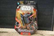 Star Wars Transformers Darth Vader TIE Advanced (2005) Hasbro Toy Figure