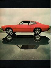1970 FORD MAVERICK & CORTINA ~ ORIGINAL 6-PAGE ROAD TEST / ARTICLE / AD