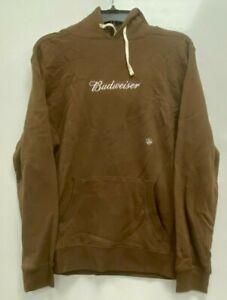 Budweiser Hoodie Sweatshirt Beentrill Size Medium Drawstring NWT