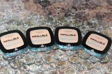 Lot of 4 L'Oreal Infallible Pro Glow Longwear Pressed Powder #23 NUDE BEIGE
